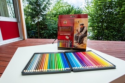 Aquarelle Coloured Pencils Set
