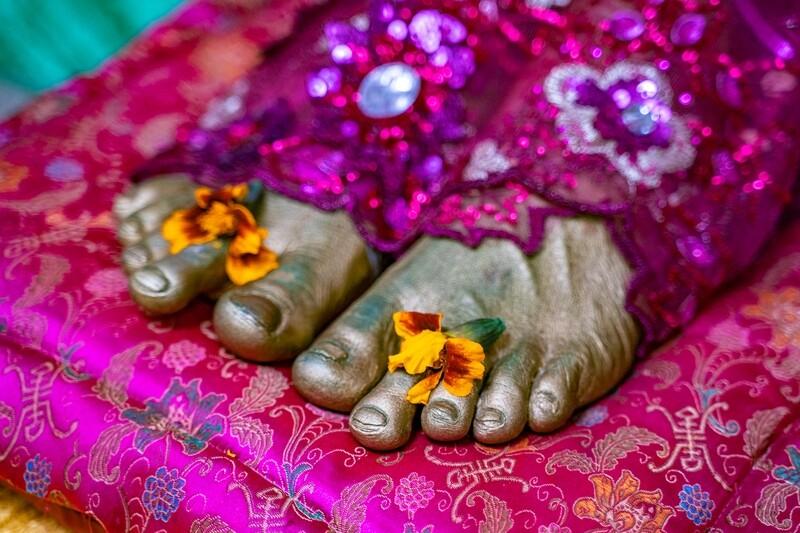 3D feet 'Paramahamsa Vishwananda'