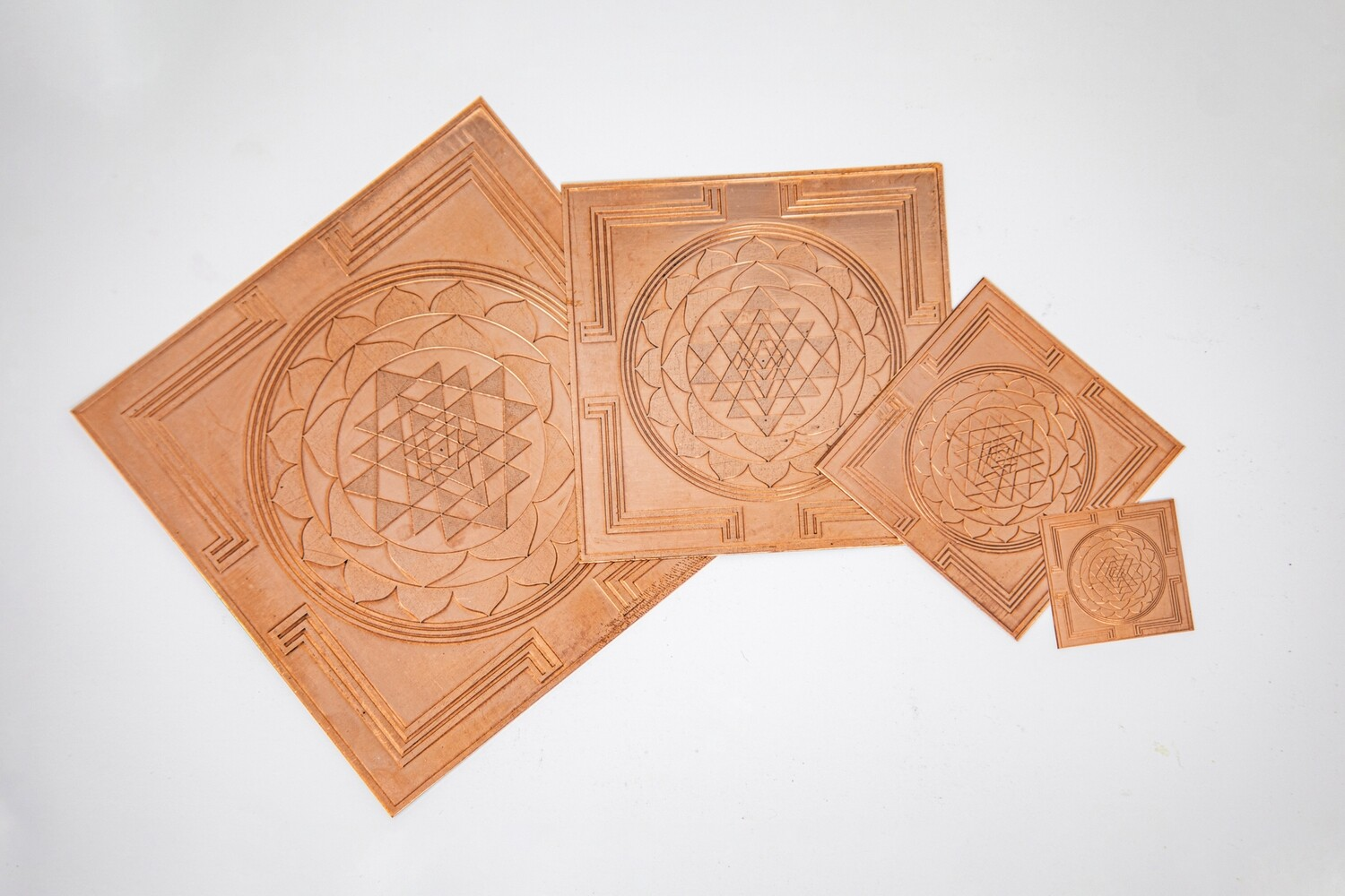 Sri Yantra, small sizes