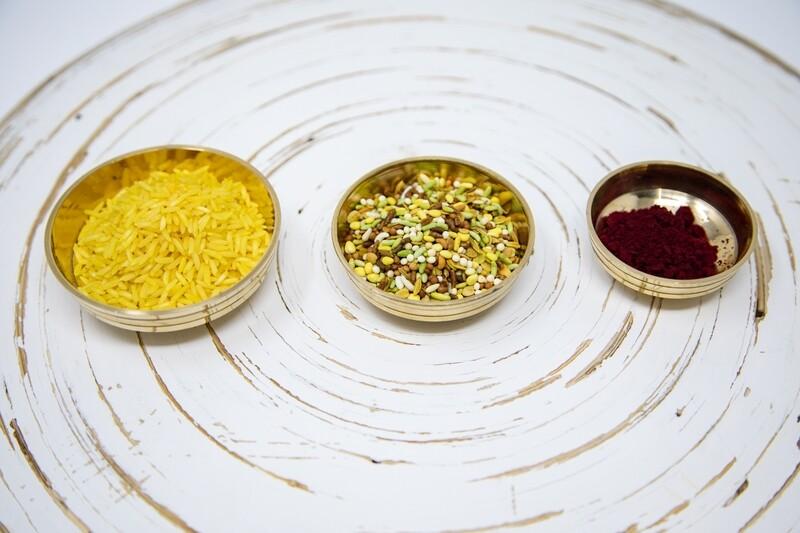Brass Puja Bowl- Small.2