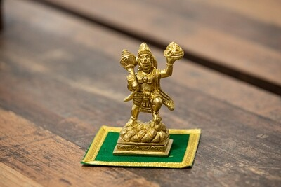 Lord Hanuman Carrying the Mountain