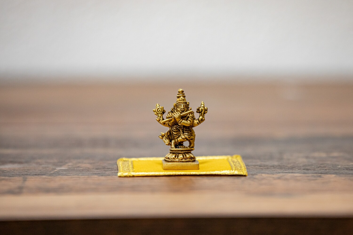 Lord Krishna Playing Flute - mini murti