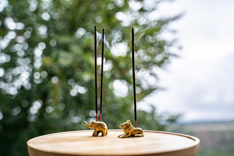 Incense Holder, elephant or lion