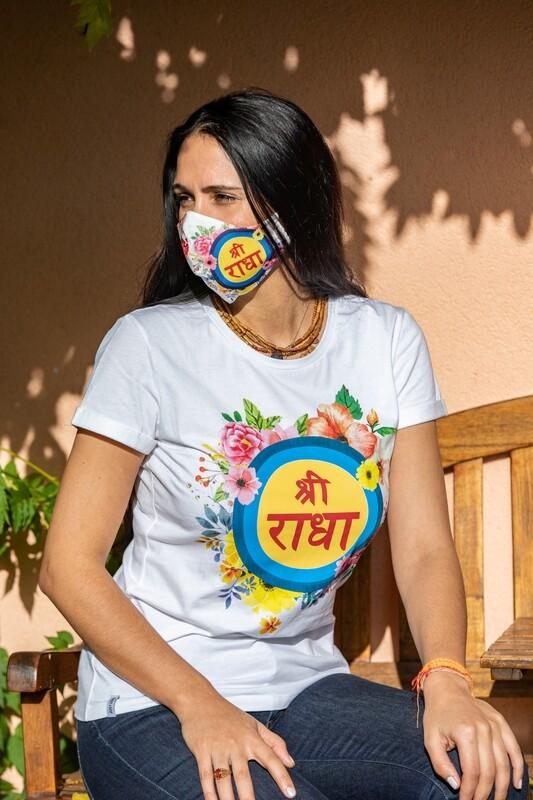 Social Mask 'Sri Radha'