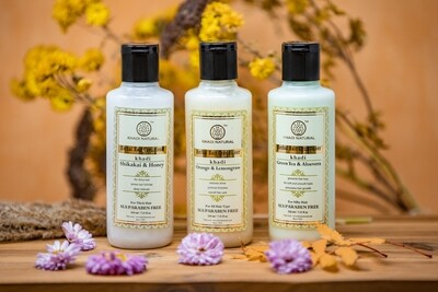 Khadi Herbal Hair Conditioner, SLS and Paraben Free, 210ml
