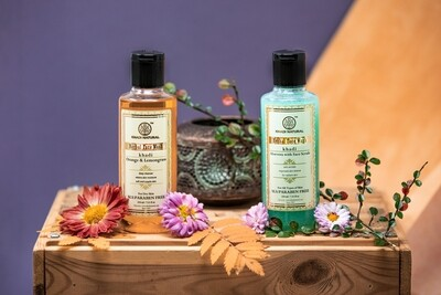 Khadi Herbal Face Wash, SLS and Paraben Free, 210ml