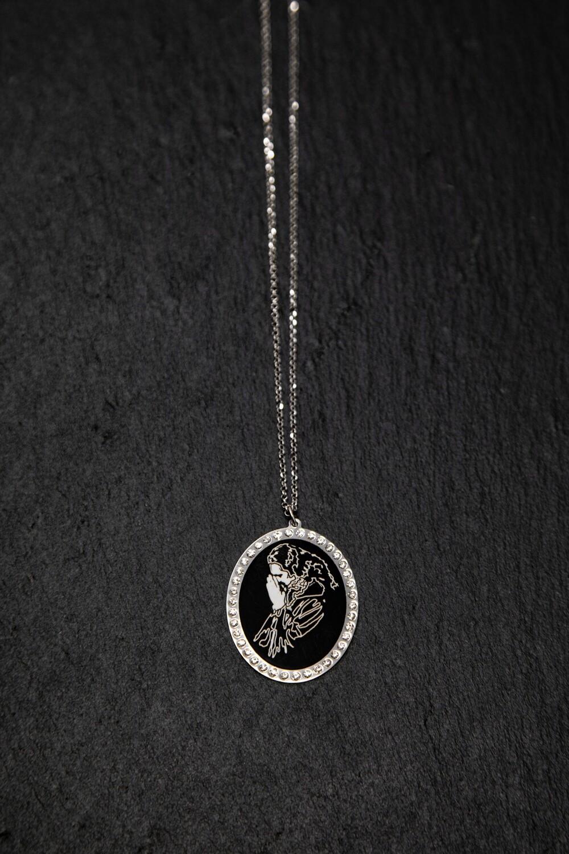Sterling Silver 'Paramahamsa Vishwananda' Necklace and Pendant