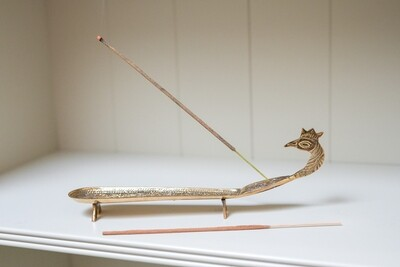 Peacock Incense Holder