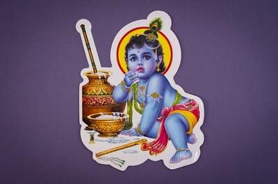 Vinyl God /Goddess Stickers - Large
