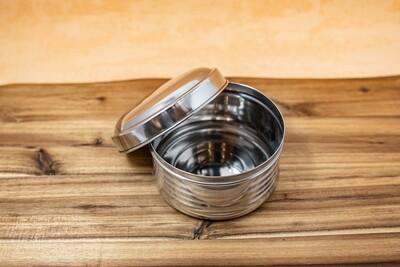 Stainless Steel Round Box