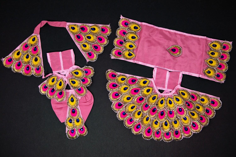 Ornate Deity Clothing for the Divine Couple  - Medium