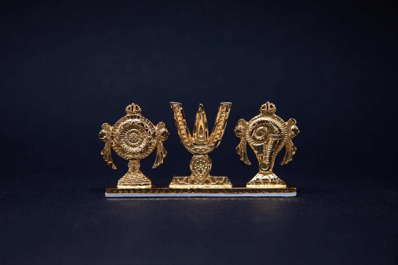 Standing Vaishnava Symbols