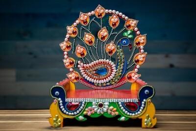Decorative Deity Asana - Medium