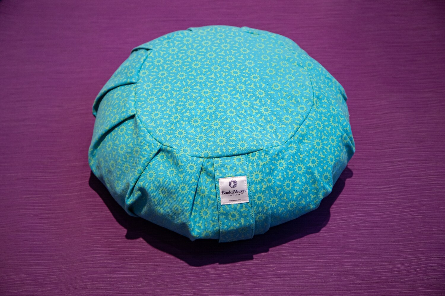 Meditation Cushion, Round pleated