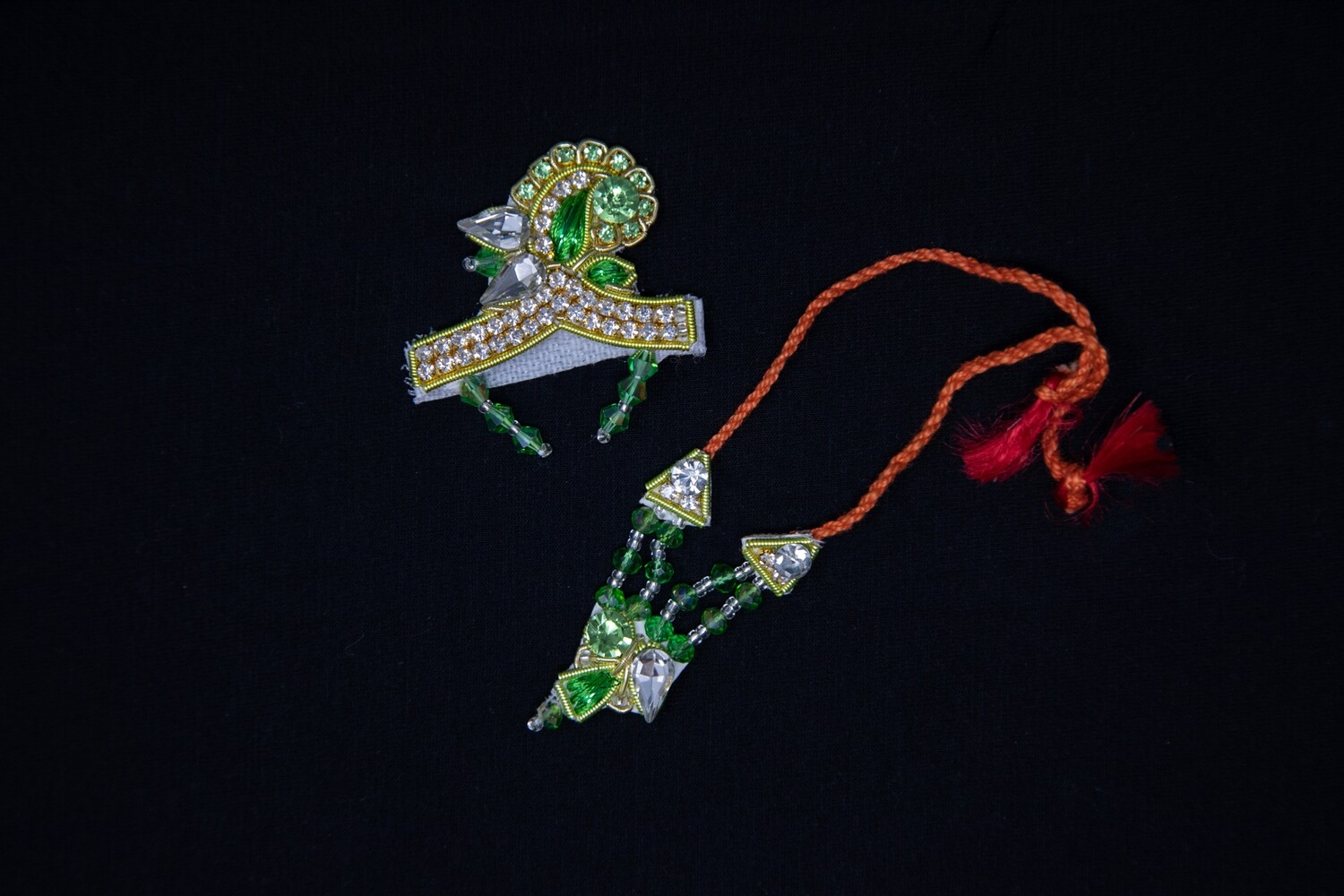 Deity Crown Necklace Set - small