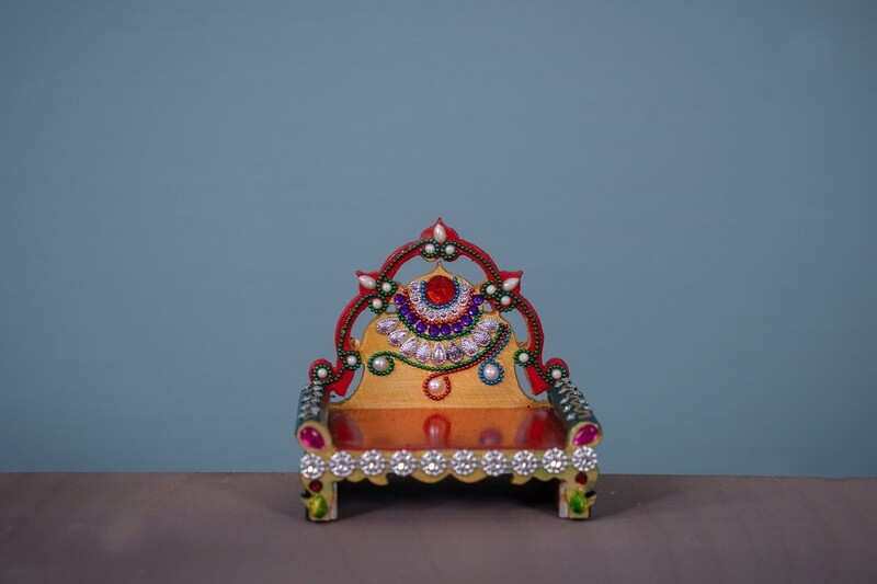 Decorative Deity Asana - Miniature