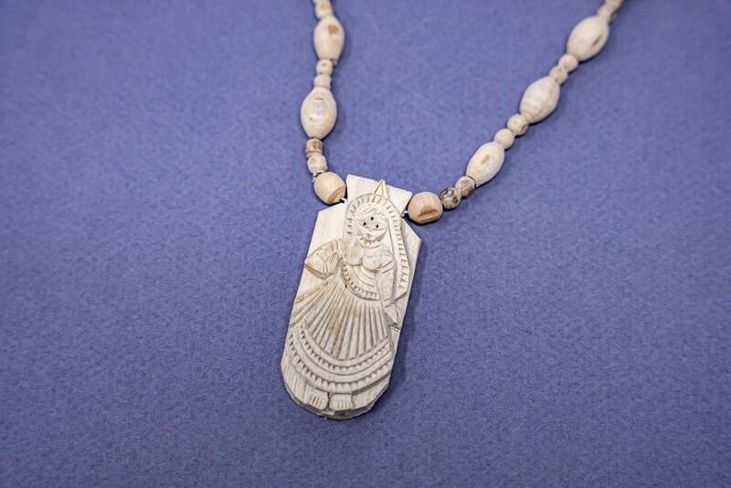 Tulsi Necklace - Radharani Pendant