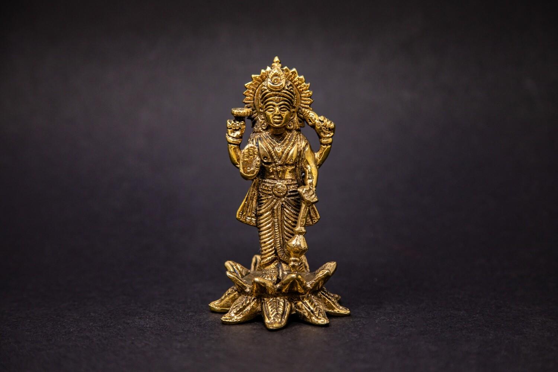 Lord Narayana on Lotus