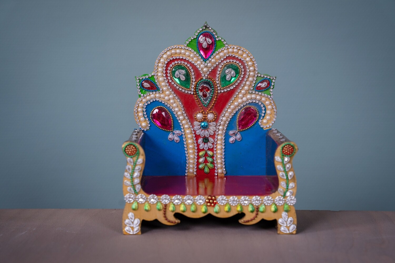 Decorative Deity Asana - Small.2