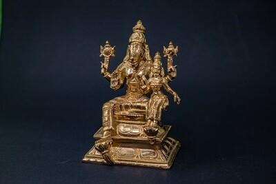 Lakshmi-Hayagriva - panchaloha - medium