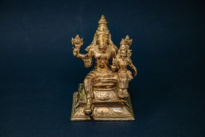 Lakshmi-Varaha - panchaloha - small