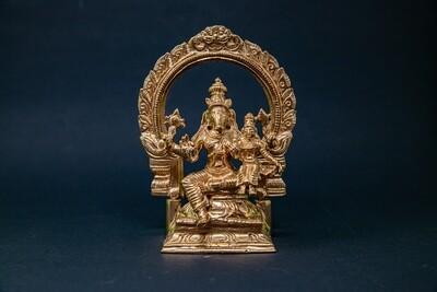 Lakshmi-Varaha - panchaloha with arch
