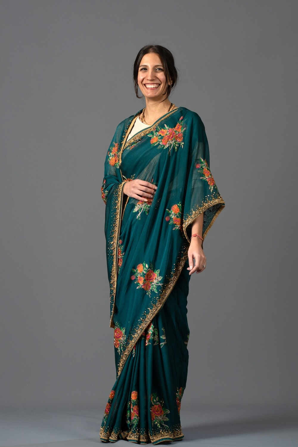 Forest Fairytale Saree