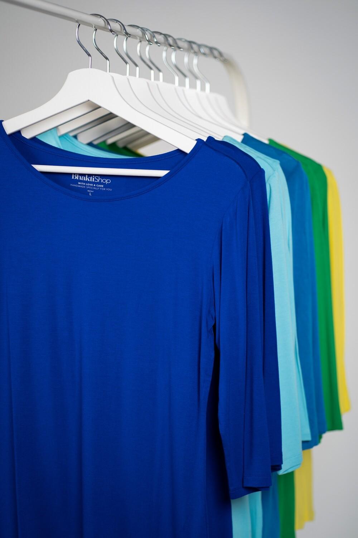 Shirt, ¾ length sleeve