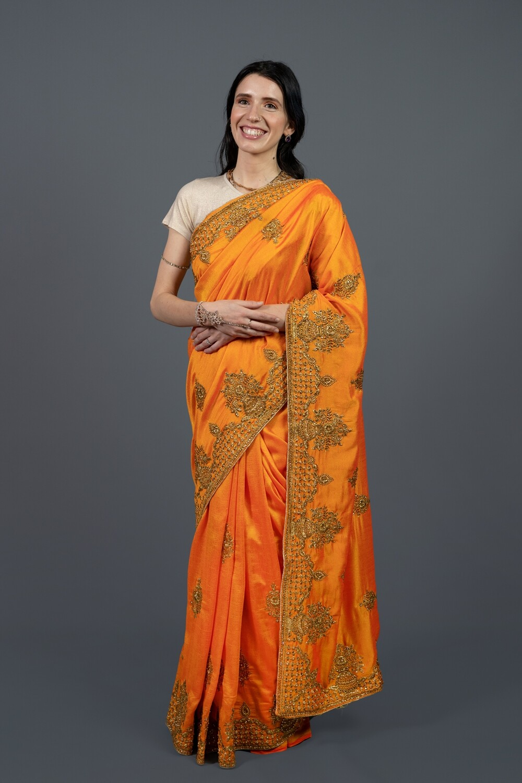 Embroidered Regal Saree
