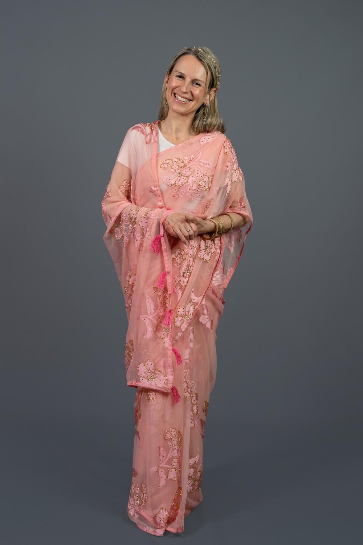 Delicate Pink Saree
