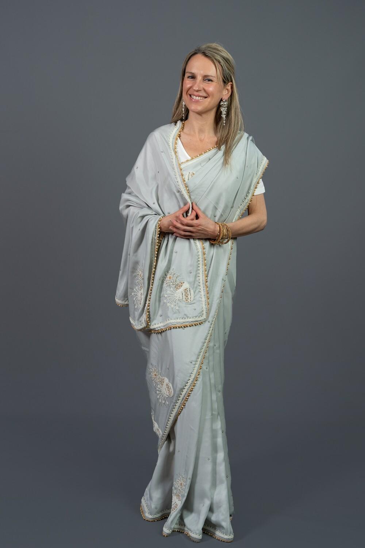 Kalash Pearl Saree