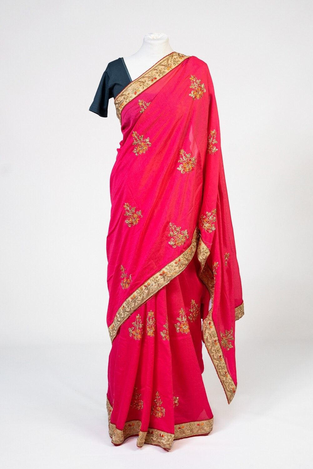 Passionately Pink Saree