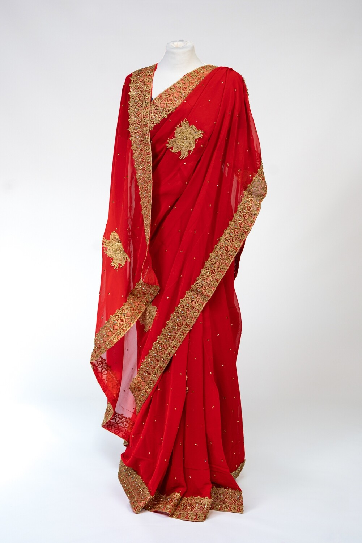 Red Rani Saree