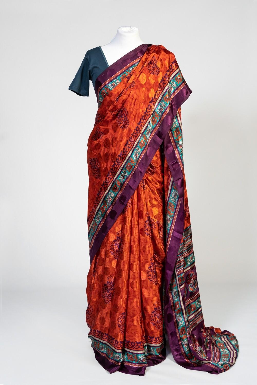 Sati's Triumph Saree