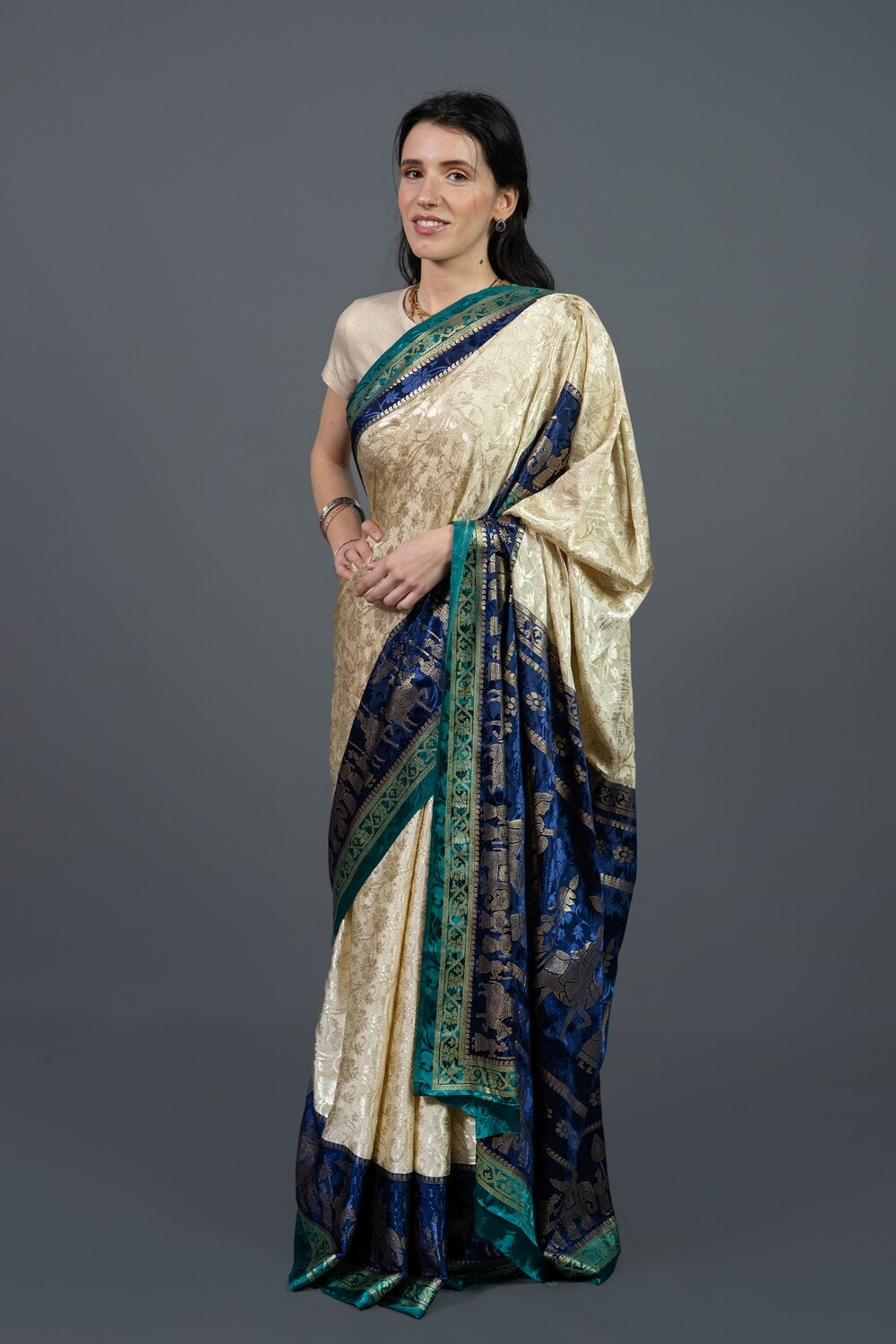 Lady-in-Waiting Saree