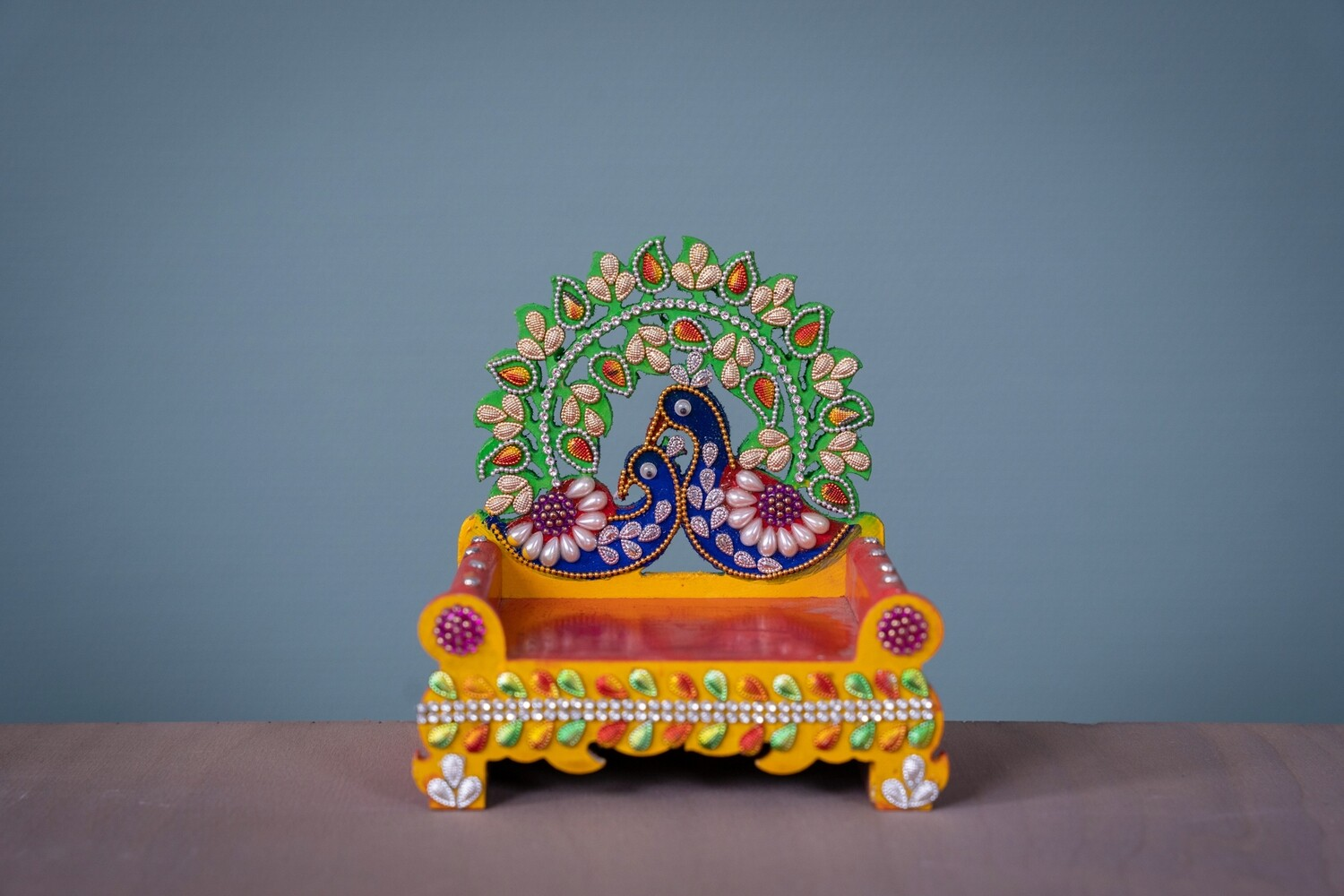 Decorative Deity Asana - Small