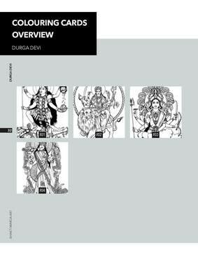 Colouring Cards 'DURGAI DEVI'