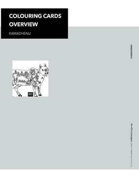 Colouring Cards 'KAMADHENU'