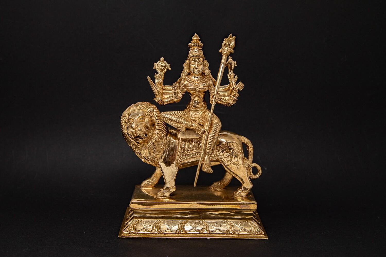 Durga-Devi - panchaloha