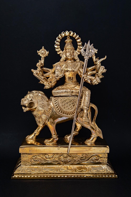 Durga-Devi - panchaloha - large