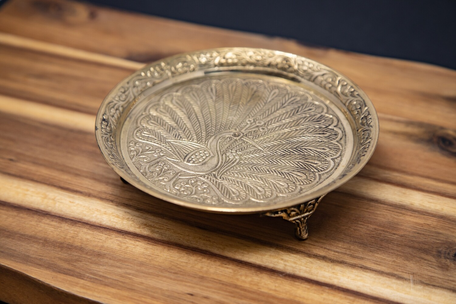 Puja plate with stand