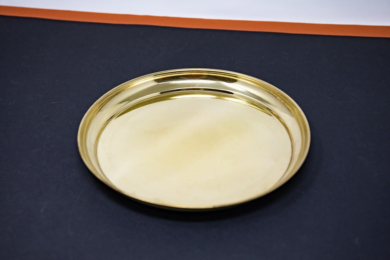 Plain puja plate