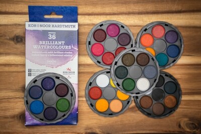 Brilliant Watercolours Set