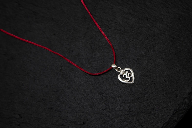 'OM in my Heart' Pendant