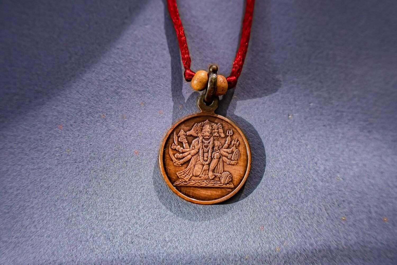 Panchamukha Hanuman Yantra Pendant