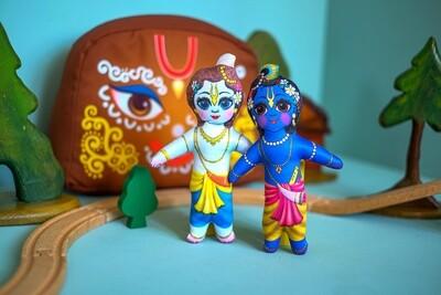 Krishna and Balarama  - Children's Stuffed Toys
