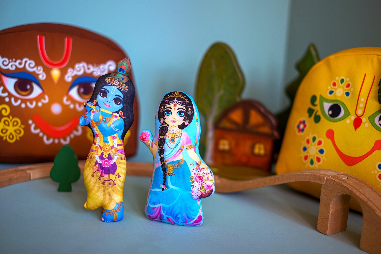 Radha-Krishna - Children's Stuffed Toys