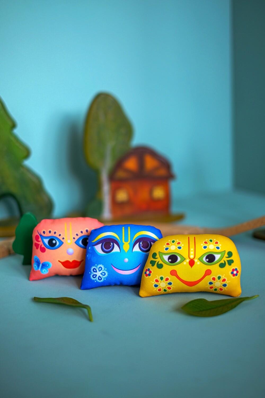 Giriraj, mini trio - Children's Stuffed Toys