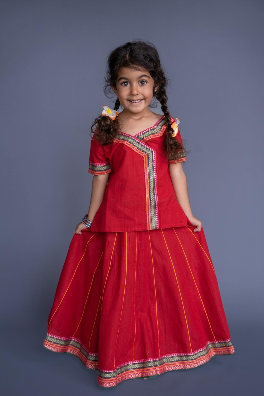 Girl's Gopi Dress Set, 4-5 years