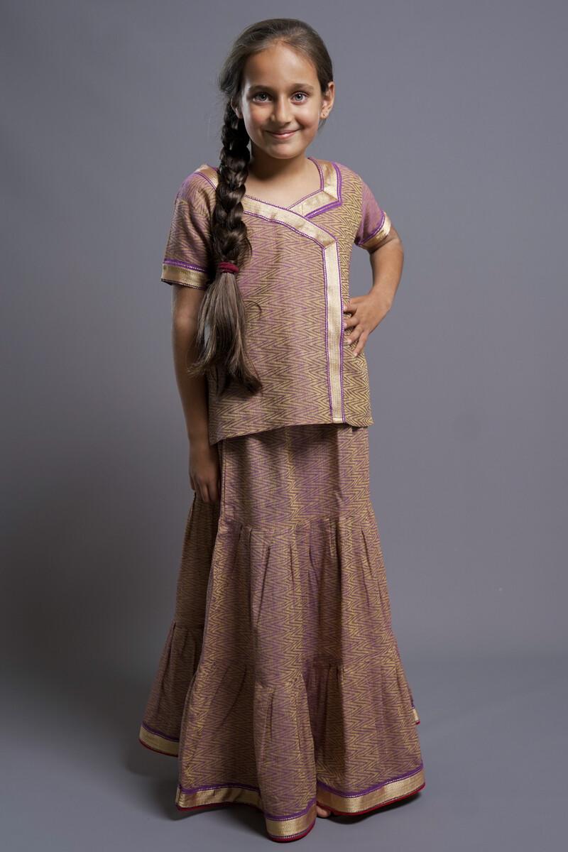 Girl's Gopi Dress Set, 7-8 years